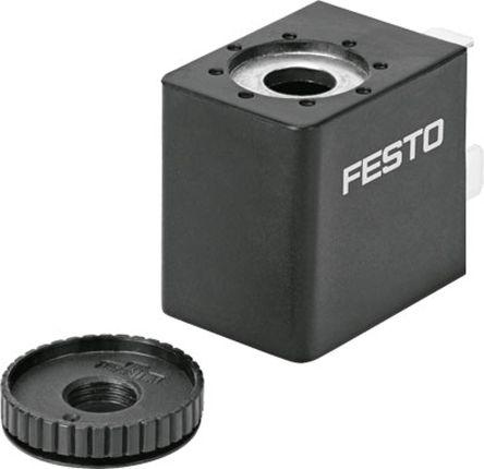 Festo 24V dc Replacement Solenoid Coil, Compatible With VSNC, VUVS