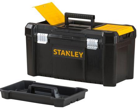 Stanley Plastic Tool Box dimensions 482 x 254 x 250mm