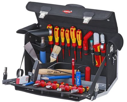 Knipex 23 Piece Electricians Tool Kit VDE Approved