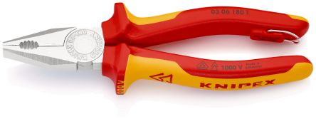 """Knipex High Leverage 9/"""" Combination Pliers 21605"""