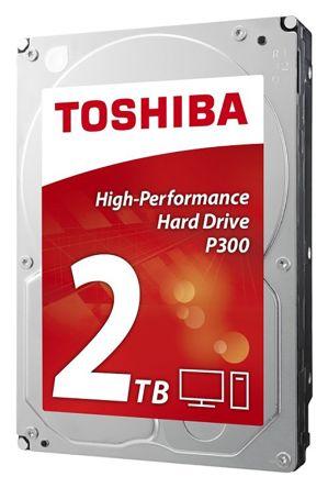 Toshiba 内蔵ハードディスク, 容量 2 TB, 7200rpm RPM, HDWD120UZSVA