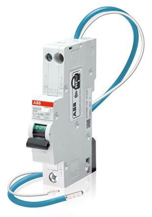 1P+N 6 kA 50 A RCBO, DIN Rail Mount, Trip Sensitivity 30mA System M Pro DSE201