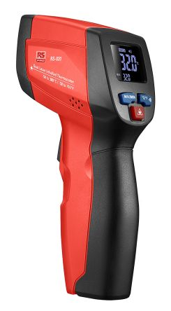 RS820 IR Thermometer,-50C to +380C, 12:1