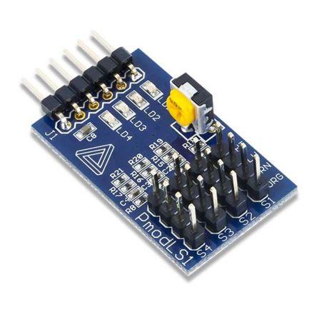 Pmod LS1 Line Follower Sensor Interface