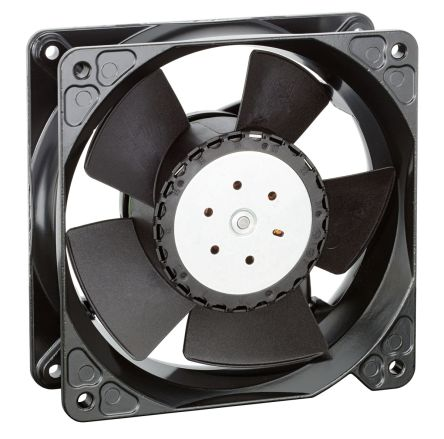 DC Axial Fan, 119 x 119 x 38mm, 570m³/h, 120W, 24 V dc (4100N Series)