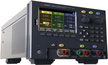 Keysight Technologies E36311A Bench Power Supply, 3 Output 6 V, ±25 V 1 A, 5 A 80W