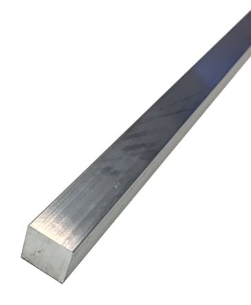 6082-T6 Aluminum Square Bar, 20mm x 20mm x 1m product photo