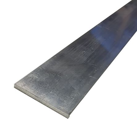 6082-T6 Aluminum Flat Bar, 25mm x 3mm x 1m