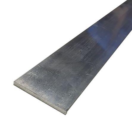 6082-T6 Aluminum Flat Bar, 40mm x 3mm x 1m