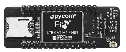 Pycom FiPy BLE, Dual LTE (Cat M1 and NB-IoT), LoRa, SigFox, WiFi  Development Board - FiPy