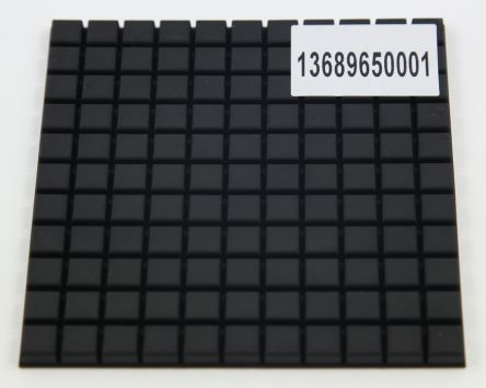 10 x 10 x 5mm Feet for use with Extruded Aluminium Enclosures