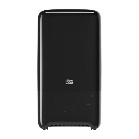 Tork Black Plastic Toilet Roll Dispenser, 140mm x 344mm x 184mm