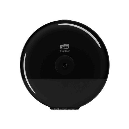 Tork Black Plastic Toilet Roll Dispenser, 156mm x 219mm x 219mm