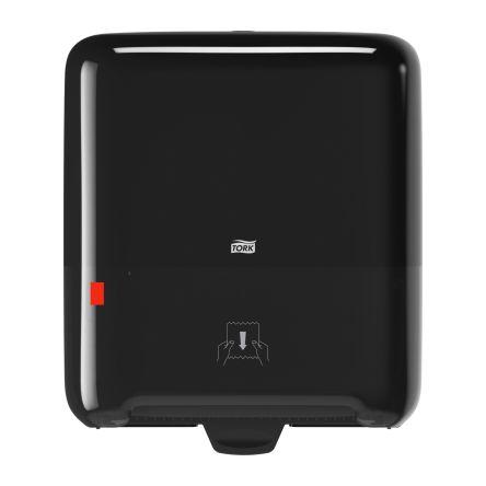 Tork Plastic Black Wall Mounting Paper Towel Dispenser, 203mm x 372mm x 337mm