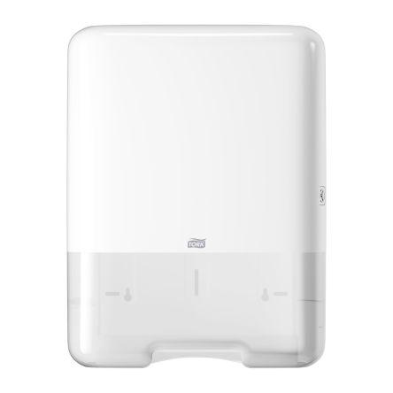Tork Plastic White Wall Mounting Paper Towel Dispenser, 136mm x 439mm x 333mm