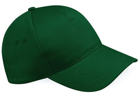 5 Panel Cap Bottle Green