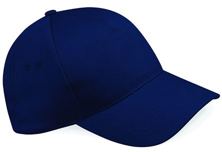 5 Panel Cap French Navy