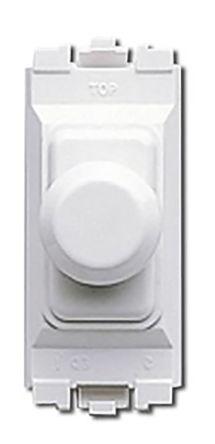 2 Way 1 Gang Dimmer Switch, 220W, 240 V ac
