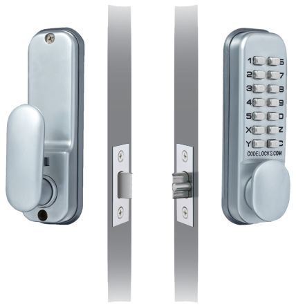 Mechanical Silver Code Lock product photo