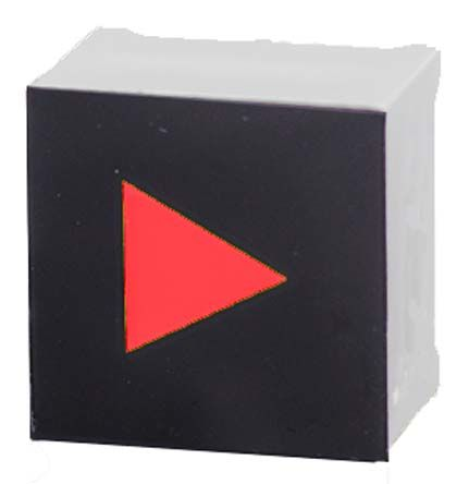 Capacitive Touch Switch ,Illuminated, Red