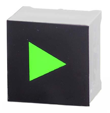 Capacitive Touch Switch ,Illuminated, Green