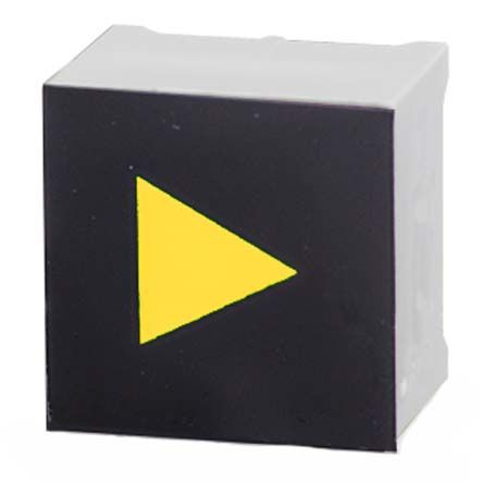 Capacitive Touch Switch ,Illuminated, Yellow