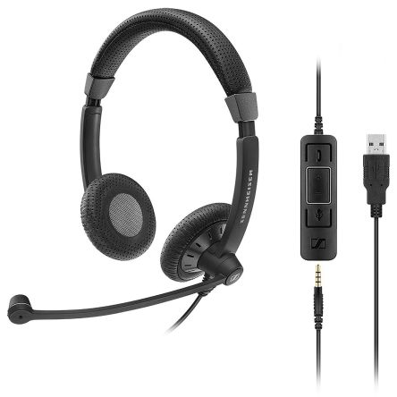 SENNHEISER SC75 BIN USB MS product photo