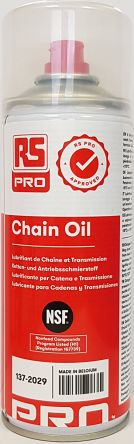 RS PRO 400 ml Chain Lubricant Aerosol Oil for Lubrication