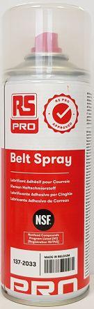 RS PRO Lubricant Hydrocarbon 400 ml Aerosol,Food Safe