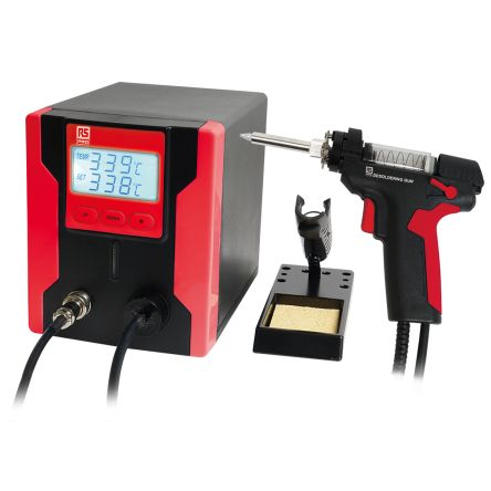 RS Pro SS-331BC-RS, Desoldering Station, 100 → 240V ac, +160°C to +480°C