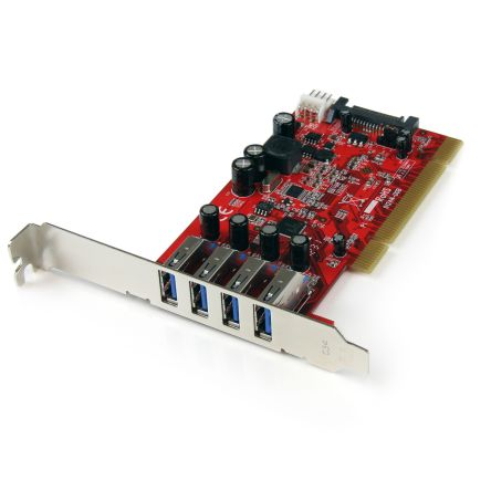 4 Port SuperSpeed USB 3.0 PCI Card