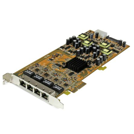 4 Port PCIe Gigabit Network Interface Card product photo