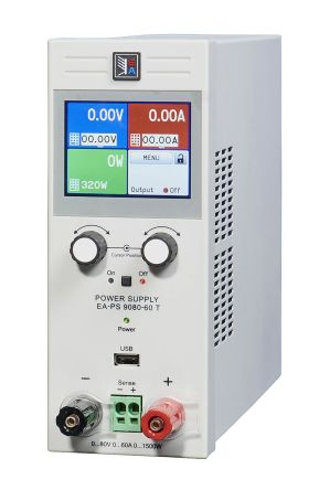 Desktop Power Supply EA-PS 9080-40 T Digital 1kW, 1 Output 0 -> 80V 40A product photo