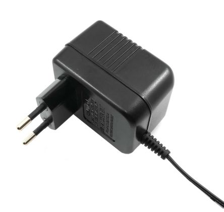 RS PRO, 9VA Plug In Power Supply 12V ac, 700mA, 1 Output Linear Power  Supply, 2-Pin Type C - EuroPlug