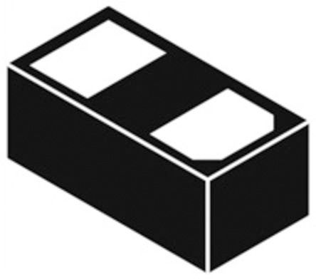 ON Semiconductor ESDM3031MXT5G, Bi-Directional ESD Protection Diode, 2-Pin X3-DFN0201