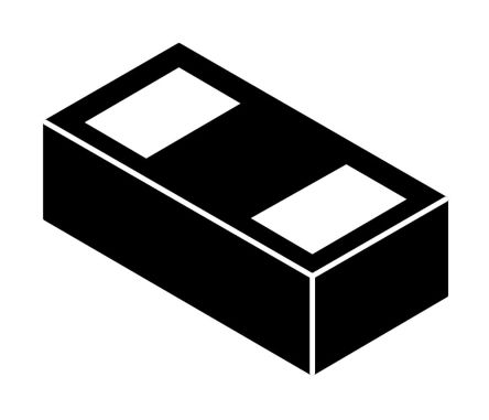 ON Semiconductor ESD8101FCT5G, Bi-Directional ESD Protection Diode, 2-Pin DSN
