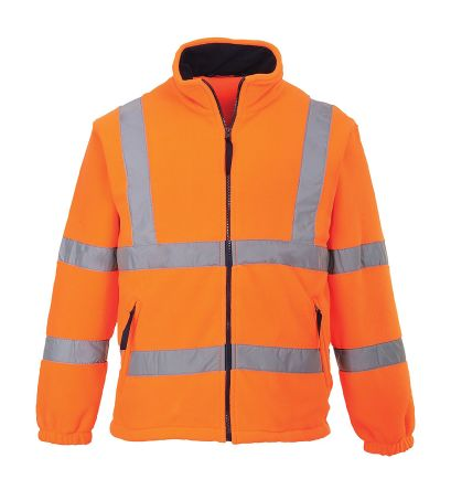 RS PRO Orange Men's No Polyester Fleece L