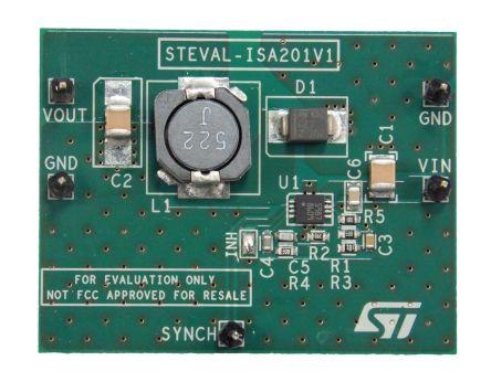 STMicroelectronics STEVAL-ISA201V1 DC-DC Converter for L5987 Evaluation Board