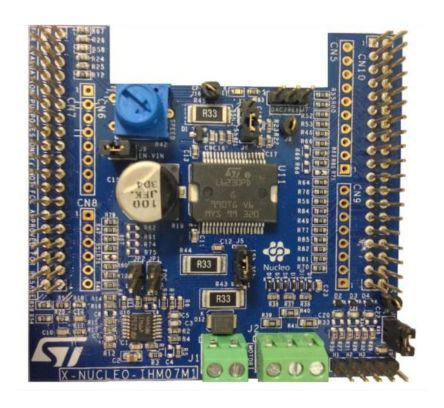 STMicroelectronics X-NUCLEO-IHM07M1 Motor Configuration BLDC Expansion Board for L6230 for STM32 Nucleo