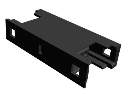 TE Connectivity RITS Connector Junction Box (2D Type) 3 Way Straight Cable Mount 2.007mm Pitch Black