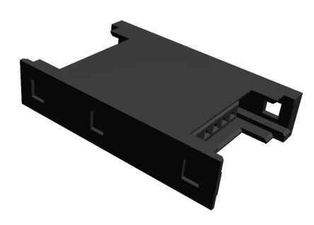 TE Connectivity RITS Connector Junction Box (2D Type) 6 Way Straight Cable Mount 2.007mm Pitch Black