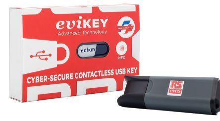 RS Pro eviKEY-NFC Premium 8 GB Encrypted NFC USB Flash Drive