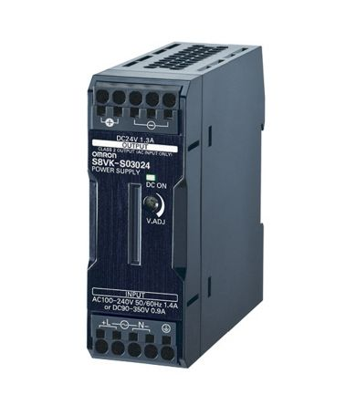 Switched Mode Power Supply DIN Rail Power Supply, 30W, 24V dc/ 1.3A