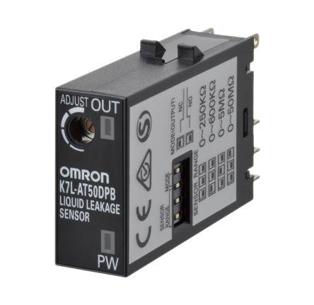 Omron K7L Series Liquid Leak Sensor Plug-In, 12 → 24 V dc 1 Voltage Input PNP