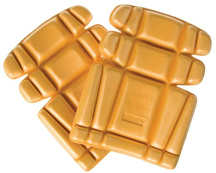 Dewalt Yellow Polyethylene (PE) Trouser Knee Pocket Knee Pad Resistant to Water