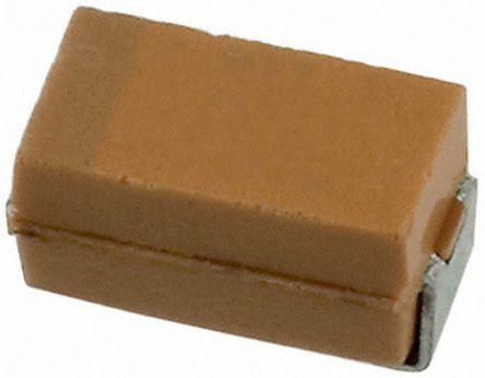 AVX 4.7μF Niobium Capacitor 10V dc ±20% Surface Mount 3.2mm NOJ Series