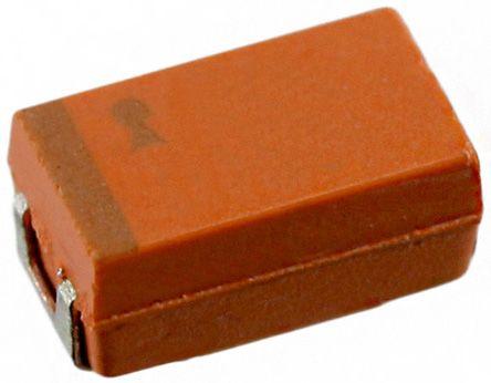 AVX 100μF Niobium Capacitor 6.3V dc ±20% Surface Mount 6mm NOJ Series