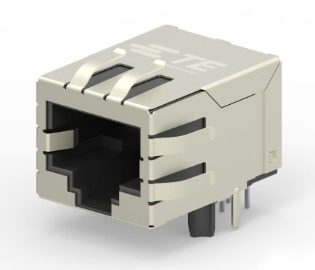 TE Connectivity, Female Cat6 RJ45 Socket