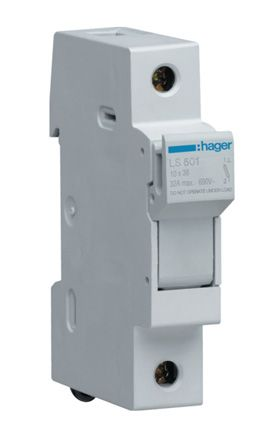 hager fuse box ls501 hager | hager 32a rail mount fuse holder for 10 x ...