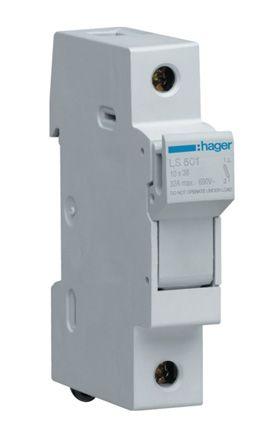 Tremendous Ls501 Hager Hager 32A Rail Mount Fuse Holder For 10 X 38Mm Fuse Wiring Digital Resources Skatpmognl